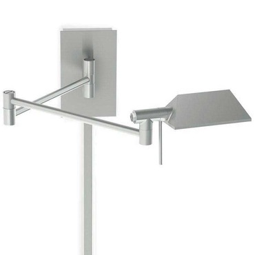 Cue LED Swing Arm Lamp by WAC Lighting | FM-BL-1223-BN