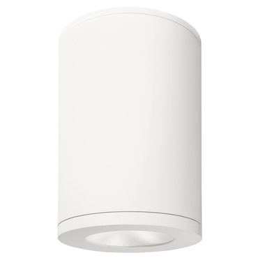 Tube 85CRI Narrow Flood Beam Outdoor Architectural Ceiling by WAC Lighting | DS-CD05-N27-WT