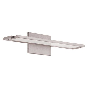 Line Vanity Wall Light by dweLED by WAC Lighting | WS-6718-27-AL