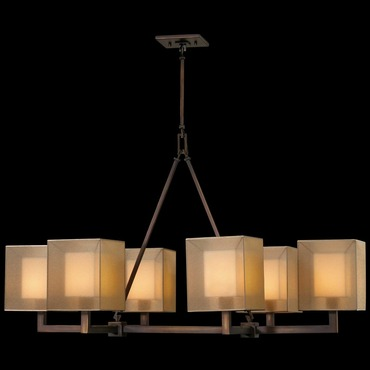 Quadralli Rectangle Chandelier by Fine Art Lamps | 331440