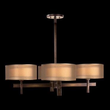 Quadralli 4-Light Chandelier