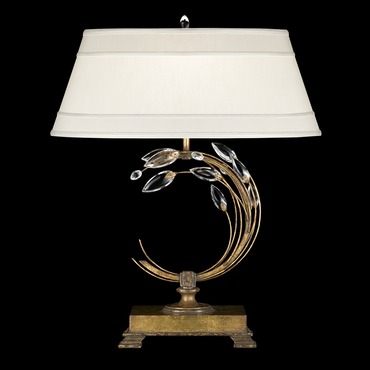 Crystal Laurel Left 010 Table Lamp