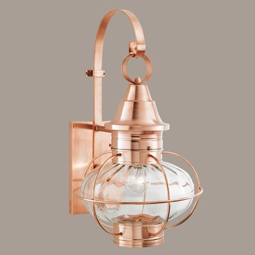 Vidalia Onion Outdoor Wall Light by Norwell Lighting | 1609-CO-PR