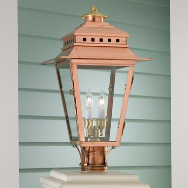 Olde Colony Copper Outdoor Post Mount