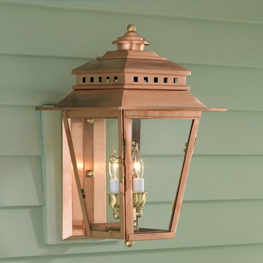 Olde Colony Copper Outdoor Wall Sconce by Norwell Lighting | 2255-CO-CL