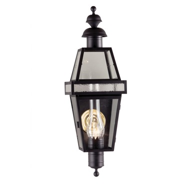 Beacon Outdoor Wall Sconce by Norwell Lighting | 2283-BL-CL/SE