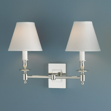 Weston Wall Sconce by Norwell Lighting | 5121-PN-WS