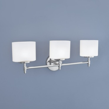 Moderne Bath Bar by Norwell Lighting | 5323-CH-MO
