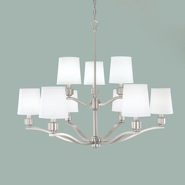 Roule Two Tier Chandelier