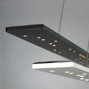Parallax LED Linear Suspension by Tech Lighting | 700LSPRLXW-LED