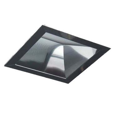 Matrix 4.5 Inch Square CFL Lensed Wall Wash Trim by Lightolier   4X4LWCCDP