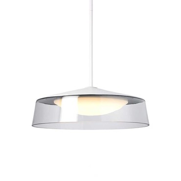 Masque Grande LED Pendant by Tech Lighting | 700TDMSQGPCWW-LED