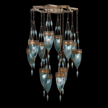 Scheherazade 12 Light Multi Pendant