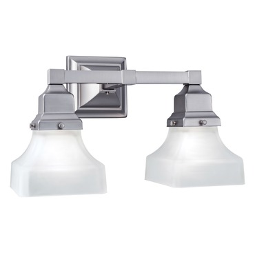 Birmingham Pyramid Bath Bar by Norwell Lighting | 8122-CH-PY
