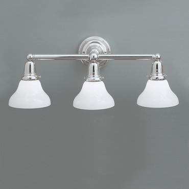 Coventry Three Light Bath Bar by Norwell Lighting | 8126-CH-SO