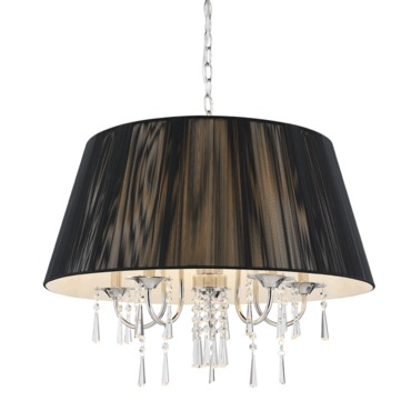 Tetiva Chandelier by Golden Lighting | 8201-5 BLK