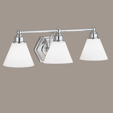 Jenna Bath Bar by Norwell Lighting | 8533-CH-OP