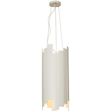 Panels Pendant by Stone Lighting | CH517WHMB10