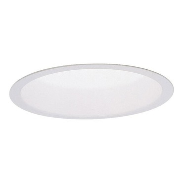 B16 6.75 Inch White Splay Reflector Trim