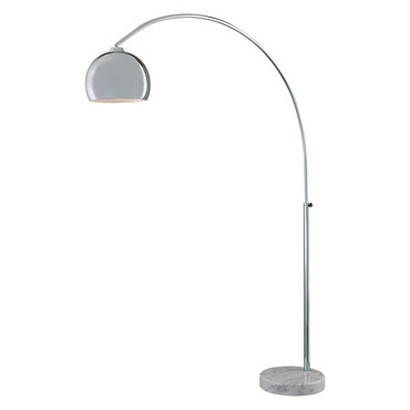 Georges Reading Room Arc Floor Lamp