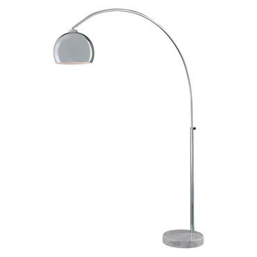 Georges Reading Room Arc Floor Lamp