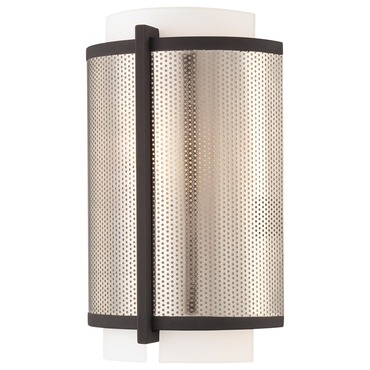 Mainly Mesh Wall Sconce by George Kovacs | P920-684