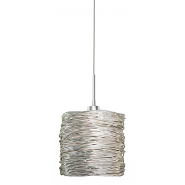 Coil EZ Jack Pendant by Stone Lighting | PD537SISNX3J