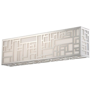 Maze Bathroom Vanity Light by Modern Forms | WS-3019-SS