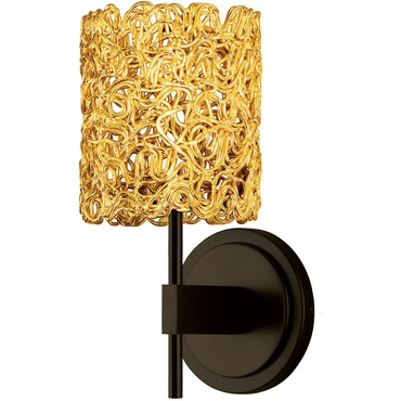 Spaga Wall Sconce by Stone Lighting | WS531GOBZX3
