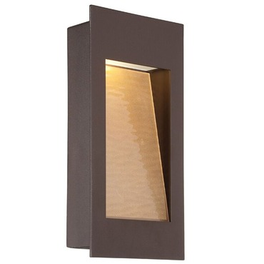 Spa Outdoor Wall Light by Modern Forms | WS-W1212-BZ