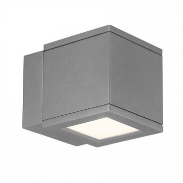 Rubix 2504 Outdoor Wall Sconce by WAC Lighting | WS-W2504-AL