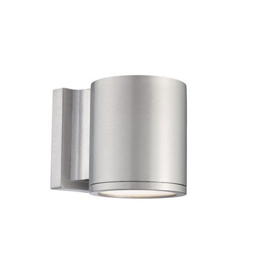 Tube Up/Down Light Outdoor Wall Sconce by WAC Lighting | WS-W2604-AL