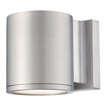 Tube Dark Sky Outdoor Wall Sconce by WAC Lighting | WS-W2605-AL