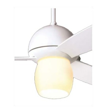 Plum Fan with Open Light by Modern Fan Co. | PLU-GW-52-WH-252-NC