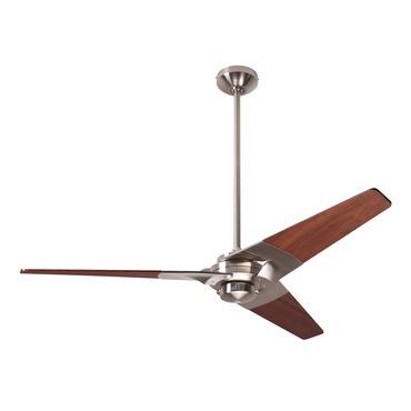 Torsion Ceiling Fan No Light by Modern Fan Co. | TOR-BN-52-MG-NL-003