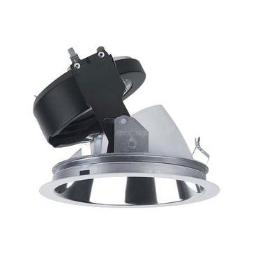 Evoluton C4MRW 4.5 Inch MR16 Lensed Adjustable Trim by Lightolier | C4MRWCLP