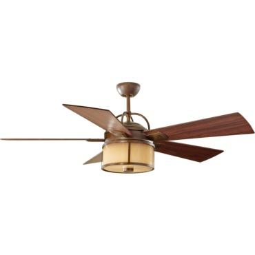 Dakota Ceiling Fan with Light by Monte Carlo | 5DKR52HBD