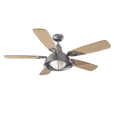 Morton Ceiling Fan with Light by Monte Carlo | 5MB52OND