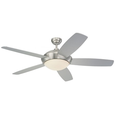 Sleek Ceiling Fan by Monte Carlo | 5SLR52BSD-B