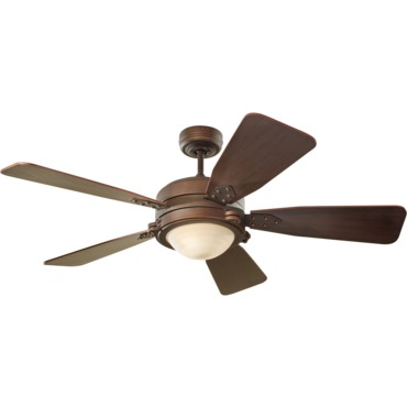 Vintage Industrial Ceiling Fan by Monte Carlo | 5VIR52RBD