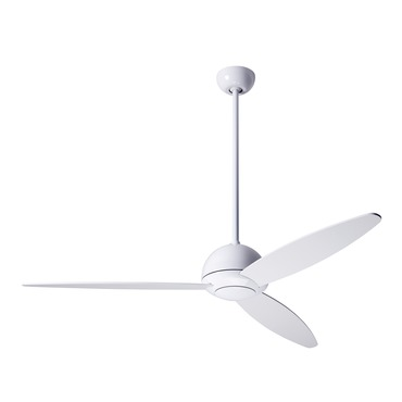 Plum Ceiling Fan No Light by Modern Fan Co. | PLU-GW-52-WH-NL-003