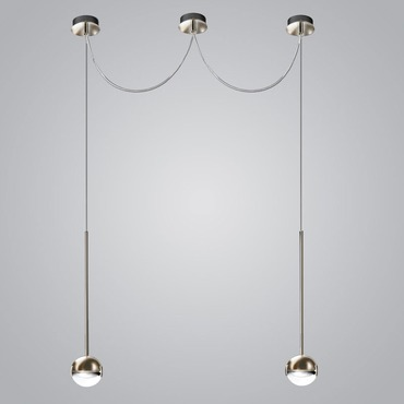 Convivio 2-Light Swag Pendant
