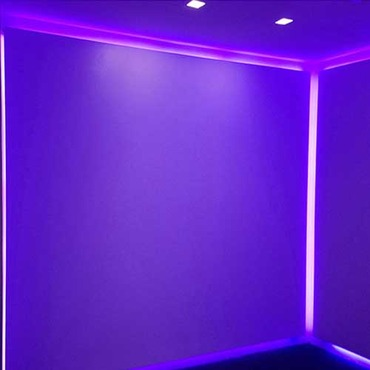 Verge Linear Plaster-IN RGB LED System