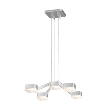 Lattice LED Convertable Pendant