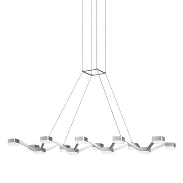 Lattice LED Linear Pendant