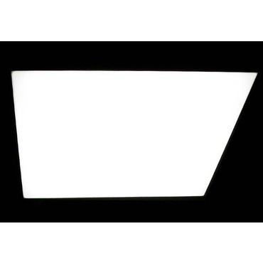 L Flow Rectangle Flush Mount by B.Lux | BL-L FLOW C90X150-WHT