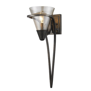 Olympia Wall Sconce by Golden Lighting | 1648-1W BUS
