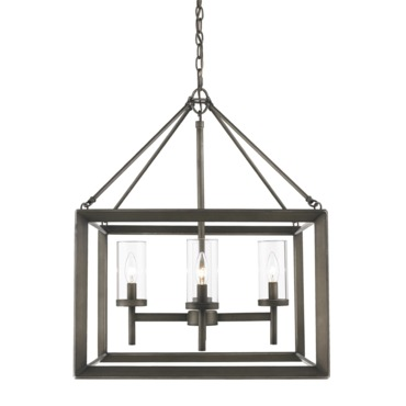 Smyth Chandelier by Golden Lighting | 2073-4 GMT