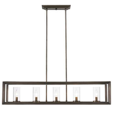 Smyth Linear Chandelier by Golden Lighting | 2073-LP GMT