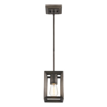 Smyth Mini Pendant by Golden Lighting | 2073-M1L GMT